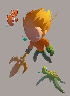 Aquaman (Arthur Curry) is a fictional character, a superhero in the DC Comics universe. Created by Paul Norris and Mort Weisinger, he first appeared in More Fun Comics #73 in 1941. Arthur is the son of a lighthouse keeper, Tom Curry and a woman named Atlanna. Raised in Amnesty Bay Maine by his mother and father in the local Lighthouse. Arthur manifested incredible strength and speed, as well as the ability to breathe underwater and talk to fish when he was just a child. On her deathbed, his…