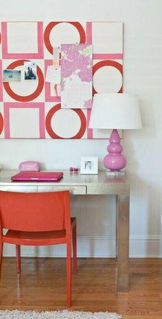Orange Pink White Nursery And Orange On Pinterest