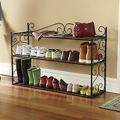 Scroll Shoe Rack from Through the Country Door® | NV600093