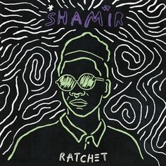 "Buy Ratchet (LP) by SHAMIR at Mighty Ape NZ. Ecstatic but hardened, urgent but expertly weathered, sparkling with the grit of a desert geode. Shamir's first full-length LP ""Ratchet"" is a disco-ho. Cool Album Covers, Music Covers, Musik Illustration, Pochette Album, Album Cover Design, Lp Cover, Cd Cover Art, Vinyl Cover, Music Artwork"