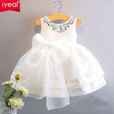 De Calidad superior Nuevo Chicas Vestidos Del Desfile Para Los Niños Del Bebé de La Princesa Vestidos floristas Niños Partido Formal de La Boda vestido de Bautizo