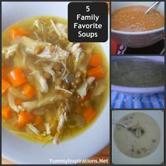 5 Family Favorite Soups - Yummy Inspirations
