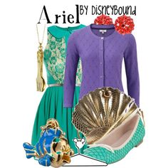 Ariel, created by lalakay on Polyvore