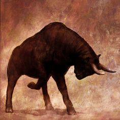 Bull fight on Behance