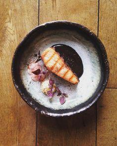 BBQ Salmon Black Garlic & Miso Ginger Radish