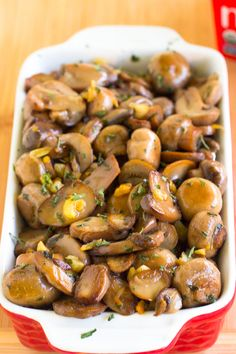 This 15 Minute Garlic Sautéed Mushrooms dish will produce the tastiest, softest and most delicious mushrooms you've ever tasted!