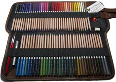 Madison set includes wide selection of watercolor pencils. #coloredpencil #art #drawing #watercolor | jnwdirect.com Watercolor Pencils Techniques, Watercolor Artists, Types Of Pencils, Colored Pencils, Artist Art, Adult Coloring, Wall Art, Drawing, Pens