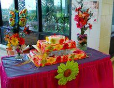 butterfly flower birthday cake table decor dsc_1652 1