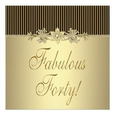 Image result for girl 40th birthday card