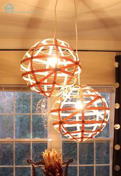 Diy Wood veneer lights