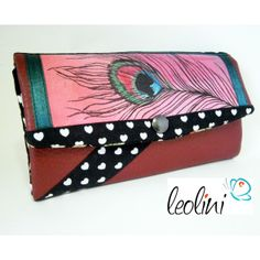 Beautiful wallet by Leolini. Could be used as an evening bag.