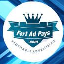 Fort ad pays is a great opportunity it is not a scam or a get rich quick scheme it is a company where you buy ad packs and let them grow and at the end of  a year you could have some great money