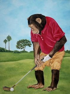 "Barbara Sharp ""The Golfer"""
