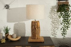 Table Lamp, Beige, Lighting, Home Decor, Products, Environment, Driftwood Lamp, Rustic Style, Table Lamps