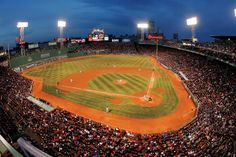 fenway park! always wanted to go to a red sox game