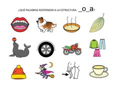 Fonética y Fonología: CONCIENCIA FONOLÓGICA:ESTRUCTURAS VOCÁLICAS Phonics, Spanish Alphabet, Speech Therapy, Speech Pathology, Speech And Language, Activities For Autistic Children, Dyslexia, Egg As Food