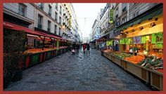Rue Cler - secret little outdoor market on Saturday and Sunday.  The cheese place is here.  Fournil Boulangerie from Rick Steves.  Near the Eiffel Tower, 7th arrondissement.