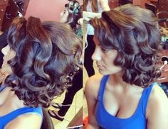 classic vintage updo