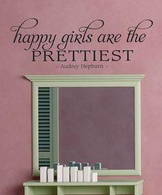 Cute for a girls bathroom/closet.