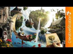 Wonderland - Speed art (#Photoshop) | CreativeStation - YouTube