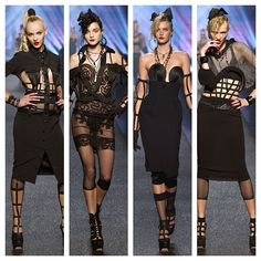 /\ /\ . Jean Paul Gaultier does Madonna SS 2013