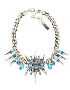 Philipp Plein Pink is the New Black Studded Necklace at FORZIERI