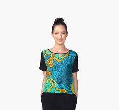 Colorful pattern on t-shirt, dress, skirt, leggings, bag, cover for phone and other products   See all products - redbubble.com/people/argunika     #Argunika #redbubble #redbubblecreate #RedbubbleArtist #surfacedesign