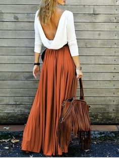GET $50 NOW | Join RoseGal: Get YOUR $50 NOW!http://www.rosegal.com/maxi-dresses/alluring-long-sleeve-maxi-draped-open-back-dress-611987.html?seid=7839514rg611987