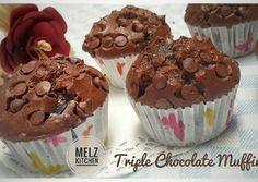 Triple Chocolate Muffin