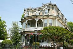 Gibson House Cape May, NJ eleborate roof shingles and carved cornices by Journey of A Thousand Miles, via Flickr