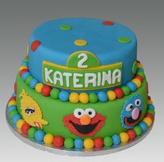Elmo/Sesame Street Cake idea....