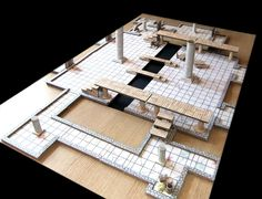 A few years back I started to make some bits and pieces for a 2.5D dungeon system - inspired by the likes of DM Scotty and the DMGinfo (just...