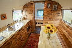 Backyard Airstream - A 1979 Airstream that serves as a backyard guest home in New Orleans, Louisiana. | pinned by haw-creek.com