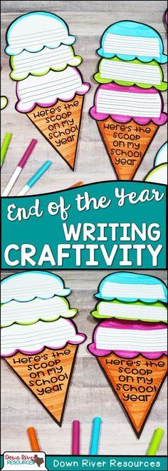 25 Trendy Kindergarten Art Projects End Of Year Kindergarten Art Projects, Kindergarten Writing, Teaching Writing, Teaching Ideas, Literacy, Teaching Tools, Craft Projects, End Of Year Party, End Of School Year