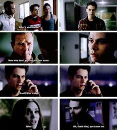 Stiles and Lydia have a deep connection just like Deaton said....of course she's going to remember him <3