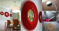Oggetti semplici che combinati insieme creano un sofisticato elemento di design #riciclocreativo #recycle #interiordesign #arredamento