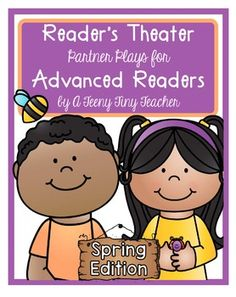 Reader's Theater - Partner Plays for Advanced Readers {Spring Edition}