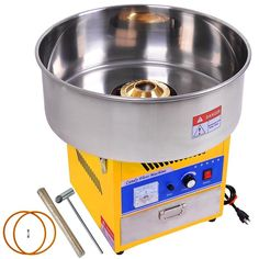 Commercial Electric Cotton Candy Machine  --  Currently Available for purchase on eCRATER.com