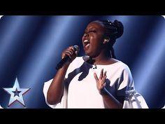 Sarah Ikumu reigns supreme with Prince's Purple Rain | Semi-Final 3 | Britain's Got Talent 2017 - YouTube