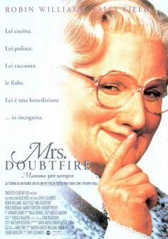 Mrs. Doubtfire (1993) Chris Columbus. Robin Williams y Sally Field