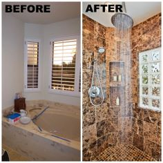 San Diego Bathroom Before and After  www.RemodelWorks.com