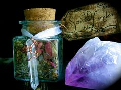 Casting A Sacred Circle Herbal Blend and Sea Salt by EireCrescent, $8.99