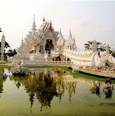 The White Temple - Thailand  www.thai-heritage.com