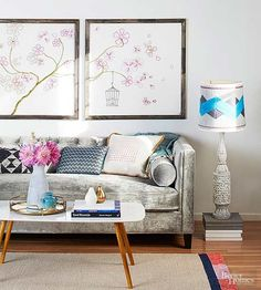 You don't need to have serious sewing or embroidery skills to make this easy-stitch art project! Choose from two embroidery stitch patterns that you can use for an art piece or to spice up your decor. Our step by step directions will help you easily complete this modern embroidery project!