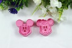 Chris's Home 2 Pcs/set,cookie Cutter 3d Mickey Mouse Animal Cake Mold, Vegetable Mould, Cake Cutter, Baking Mould Diy -- Want to know more, click on the image.