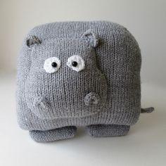 Ravelry: Hippo Cushion pattern by Amanda Berry