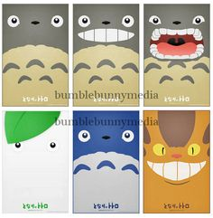 Totoro Posters by BumbleBunnyMedia on Etsy