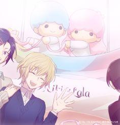 for Manga o(^▽^)o Sanrio Hello Kitty, Little Twin Stars, All Anime, Anime Art, Anime Boys, Keroppi, Sanrio Danshi, Maid Sama, Sanrio Characters