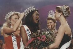 kenya moore in the Miss Usa, Kenya Moore, God First, Brown Skin, First World, Beauty Skin, Pageant, Pop Culture, Curly Hair Styles