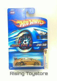Hotwheels Honda Civic Si, 2006 First Edition
